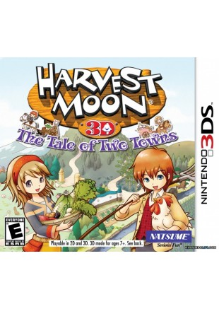 Harvest Moon The Tale Of Two Towns 3DS